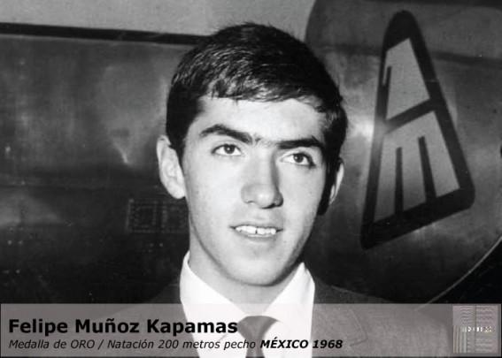 """A 50 años de la sorpresiva e histórica medalla de oro de Felipe el """"Tibio"""" Muñoz"""