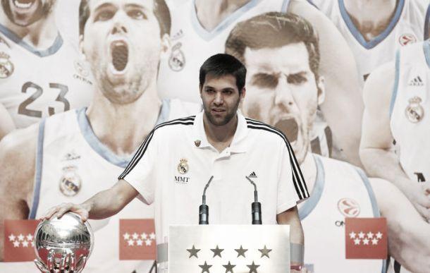 Felipe Reyes renueva con el Real Madrid por dos temporadas más