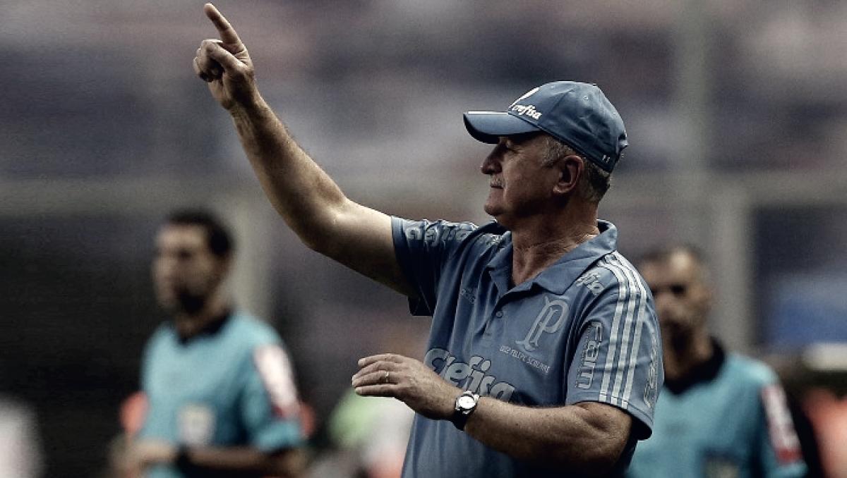 Após empate no Brasileiro, Felipão elogia grupo e foca na partida contra Cerro Porteño