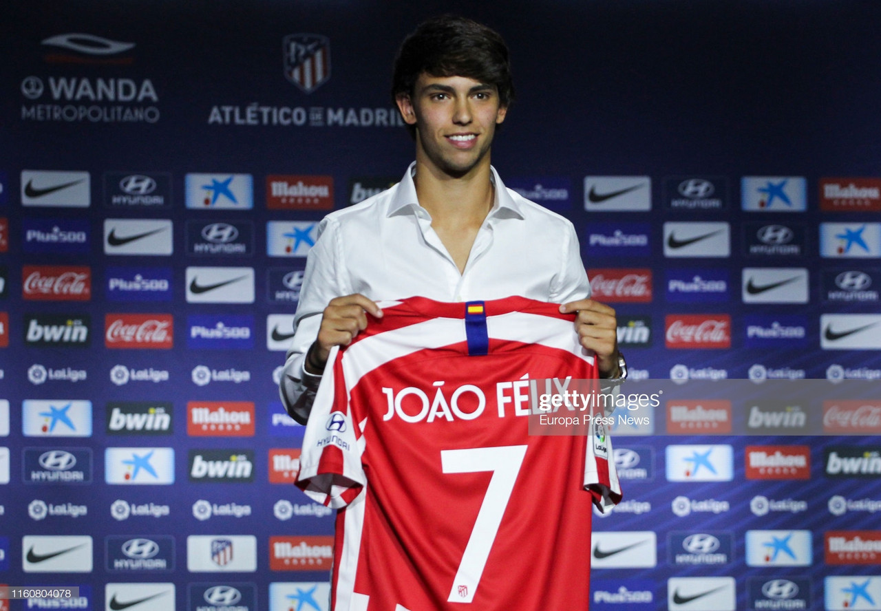 Atletico Madrid's Joao Felix admits a move to Spurs could happen one day