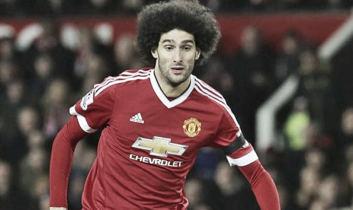 Marouane Fellaini used in wrong role at Manchester United, says Belgium manager