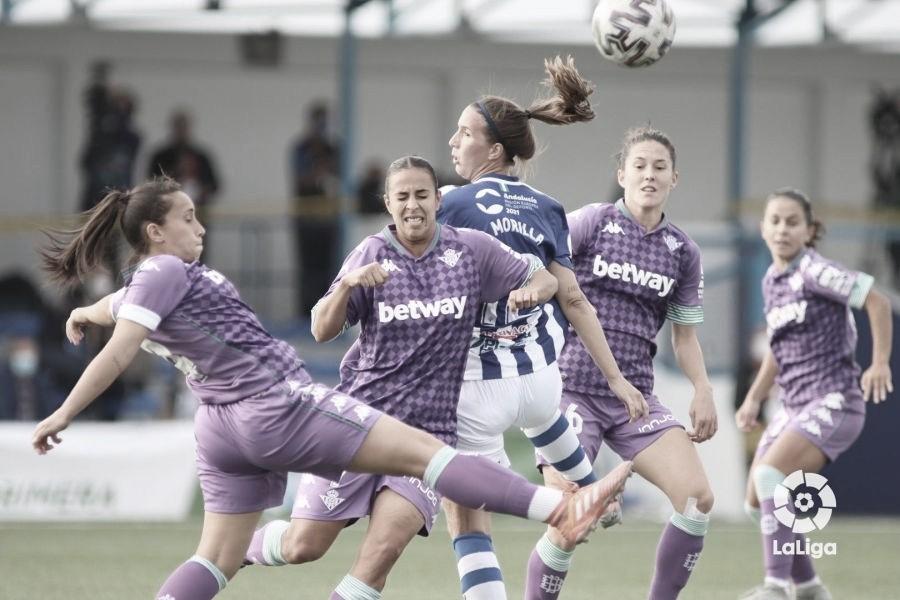 Primera victoria del Real Betis Féminas