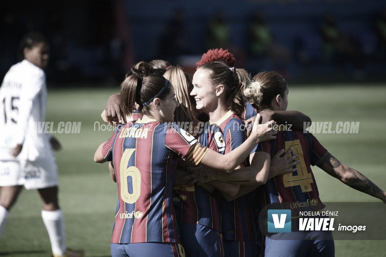 Resumen Deportivo ABANCA 1-6 Barça Femení en Liga Iberdrola