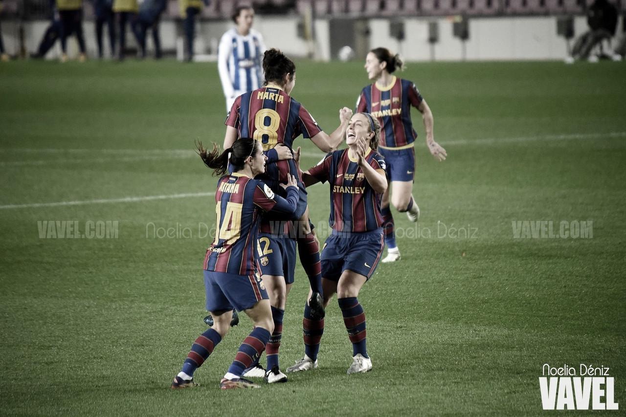 El Barça Femení sigue con su racha triunfal