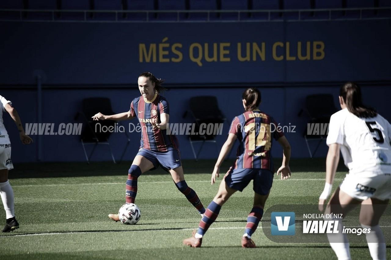 Resumen PSV 1-4 Barça Femenino en UWCL 2020
