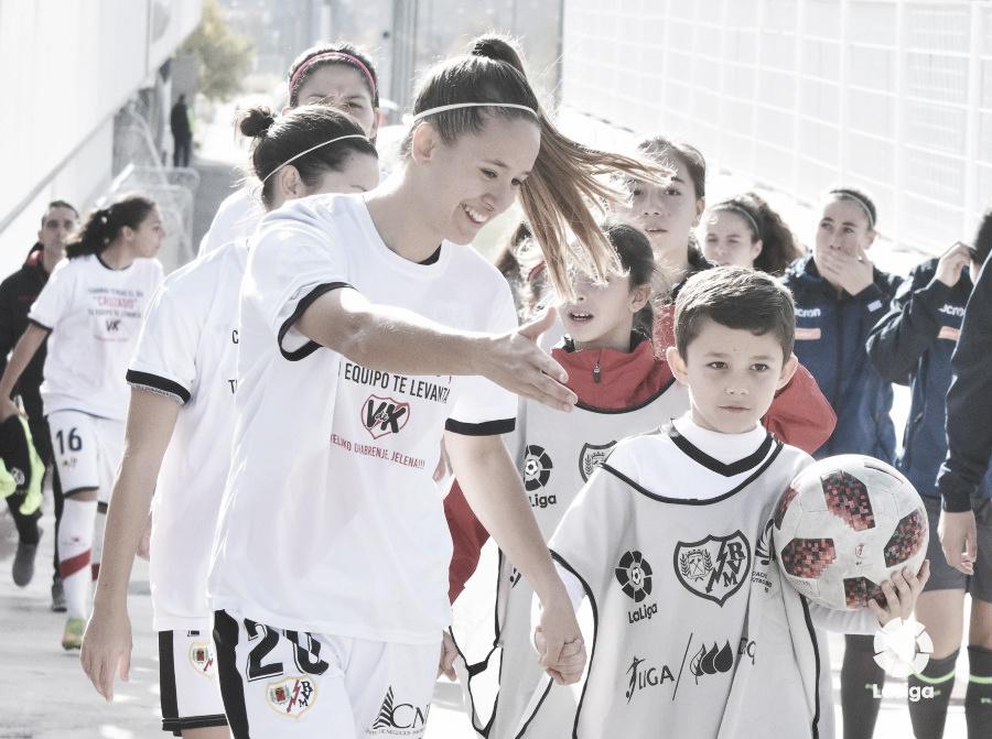 Tebas responde a Errejón tras el partido del Rayo Vallecano Femenino