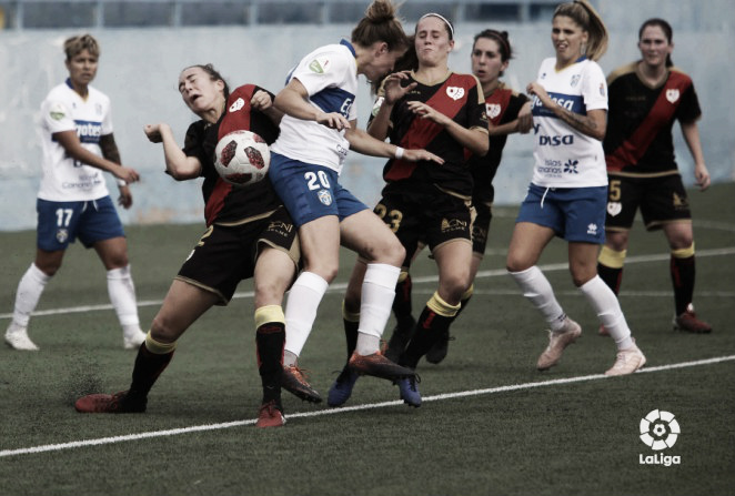 Segunda victoria consecutiva del Rayo Vallecano Femenino