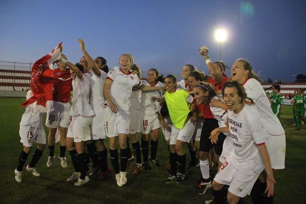 El Sevilla Femenino alcanza el ascenso a Primera