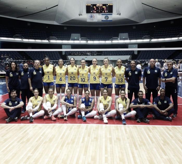 Seleção Feminina inicia série de amistosos com derrota para EUA
