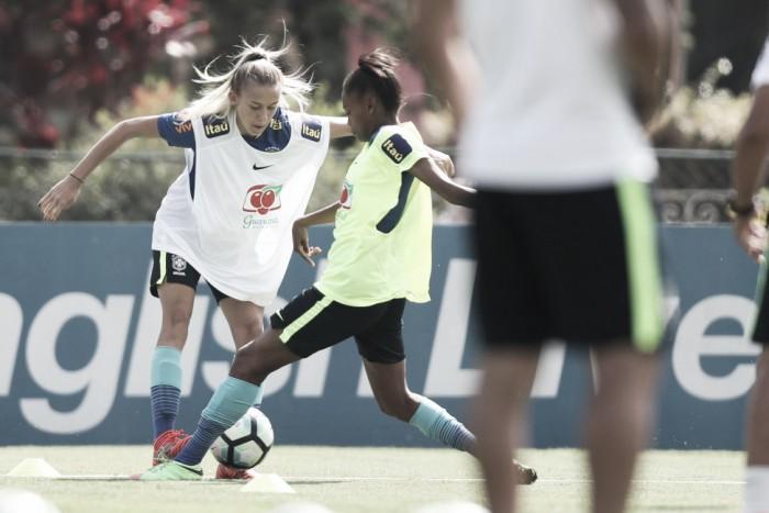 Seleção feminina Sub-20 viaja nesta quinta para Sul-Americano no Equador