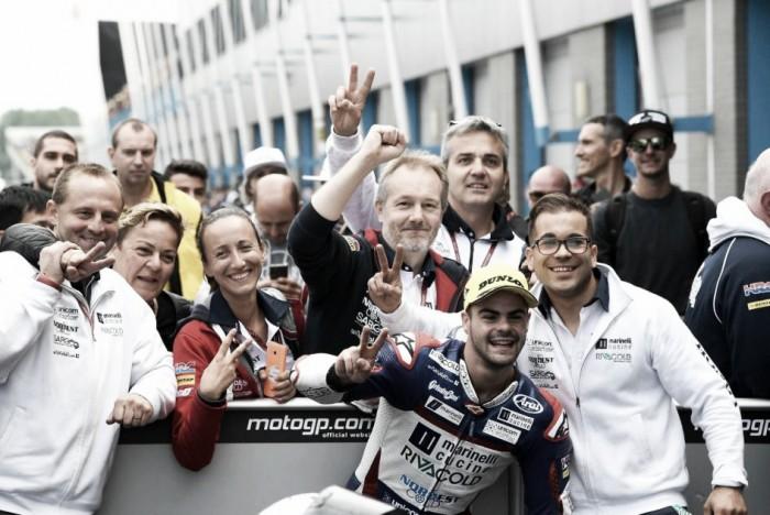Moto2, lo Snipers Team sale di categoria con Fenati