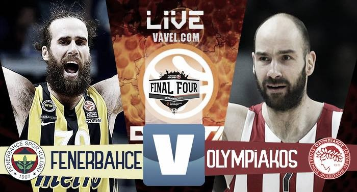 Fenerbahce - Olympicos in la finale della Turkish Airlines EuroLeague 2017 (80-64): FENERBAHCE CAMPIONE!