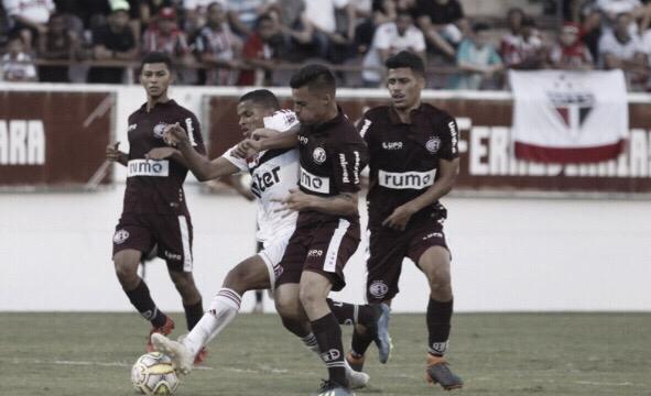 Ferroviária arranca empate no fim contra o São Paulo e garante liderança do Grupo 7