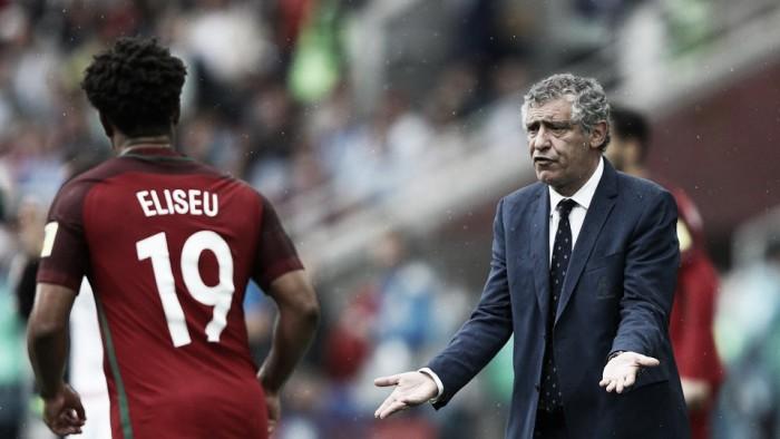 """Fernando Santos aprova desempenho de Portugal: """"Foi uma excelente prova"""""""