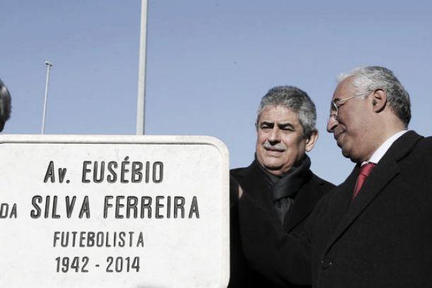 Benfica: Avenida Eusébio da Silva Ferreira inaugurada em Lisboa
