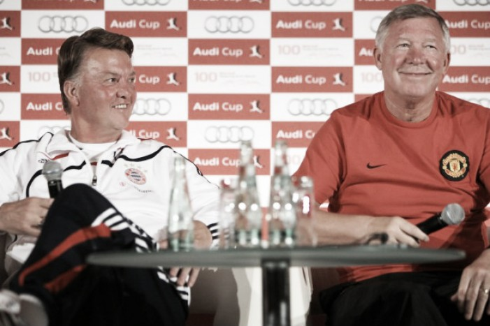 Sir Alex Ferguson asks for patience with Louis Van Gaal