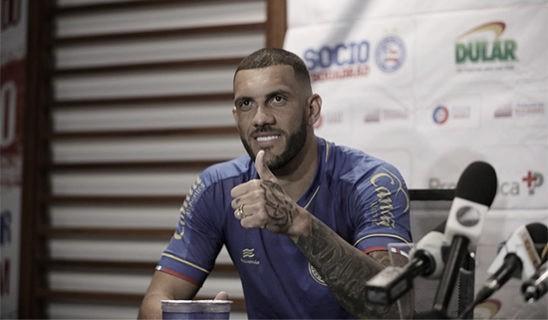 """Fernandão acredita em volta por cima do Bahia e afirma: """"Vamos para Libertadores"""""""