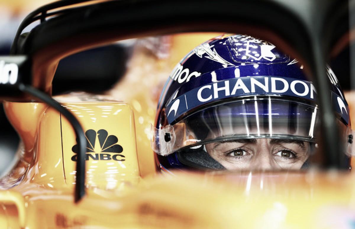 """Fernando Alonso: """"Estoy contento, pero nos falta mucha velocidad"""""""