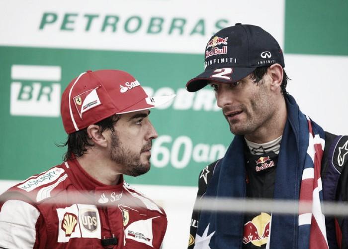 Webber desaprueba la participación de Alonso en Daytona