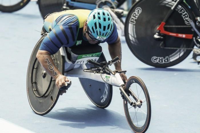 Brasil termina em sétimo na estreia do triatlo paralímpico