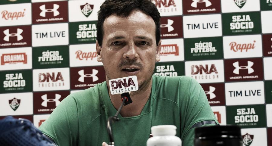 """Fernando Diniz elogia equipe do Fluminense após vitória sobre Madureira: """"Confiança aumenta"""""""