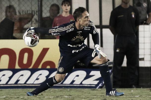 Fernando Prass tem discurso positivo após derrota do Palmeiras na final do Paulistão