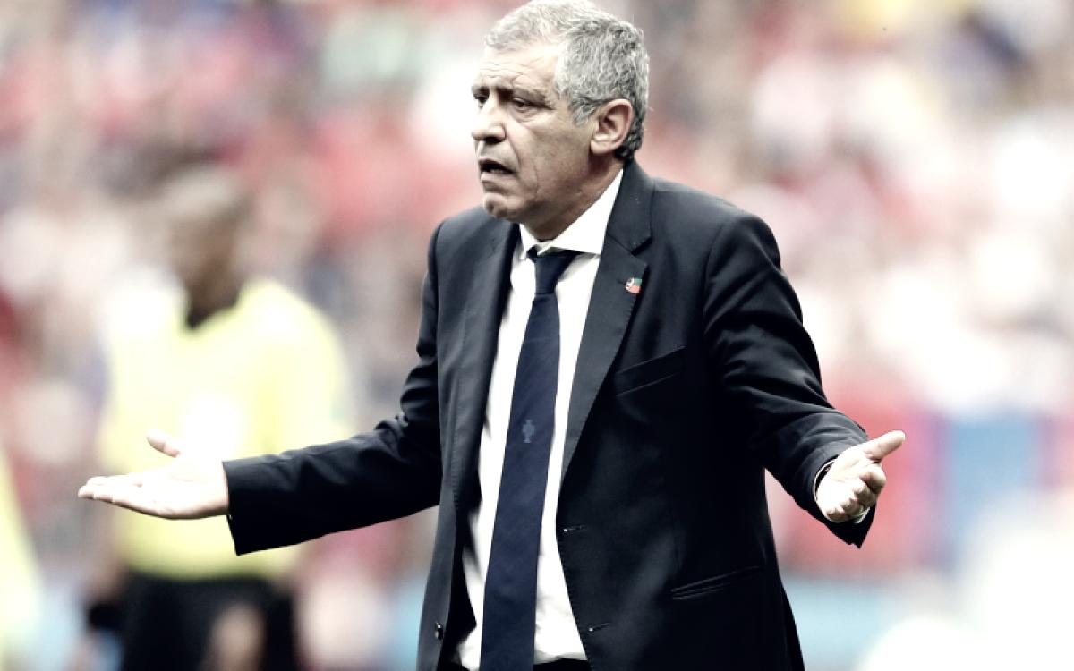 """Santos: """"No estoy feliz por el partido de mi equipo"""""""