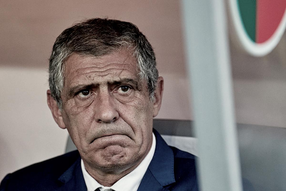 Após empate, Fernando Santos mostra insatisfação com o desempenho de Portugal