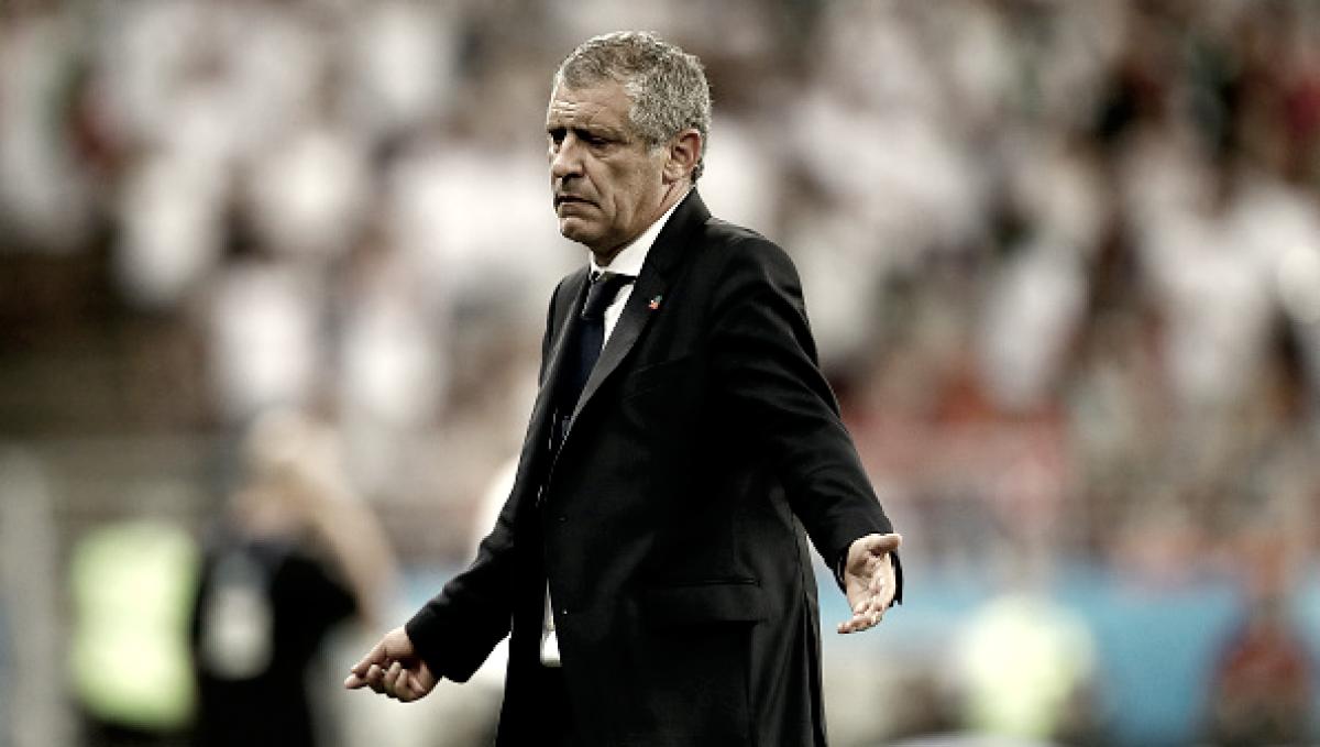 """Fernando Santos evita polêmica com VAR e já pensa no Uruguai: """"É uma equipe de muita qualidade"""""""