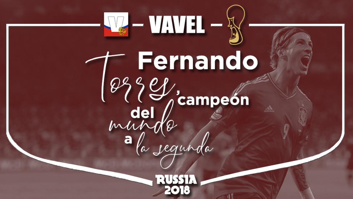 Fernando Torres, campeón del mundo a la segunda