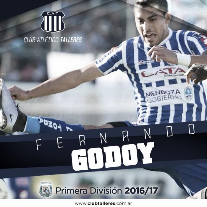 Fernando Godoy se suma a Talleres
