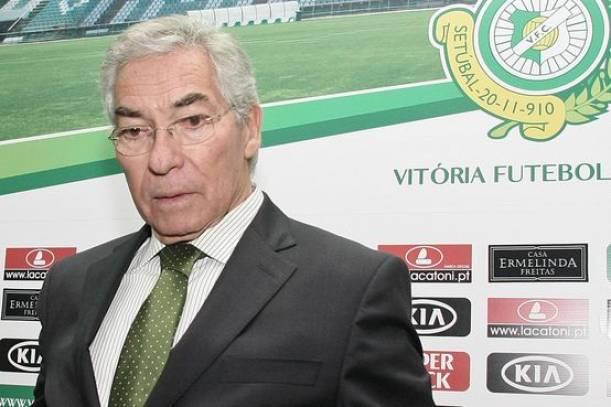 ''Podemos fazer uma gracinha frente ao Porto'', presidente do Vitória de Setúbal