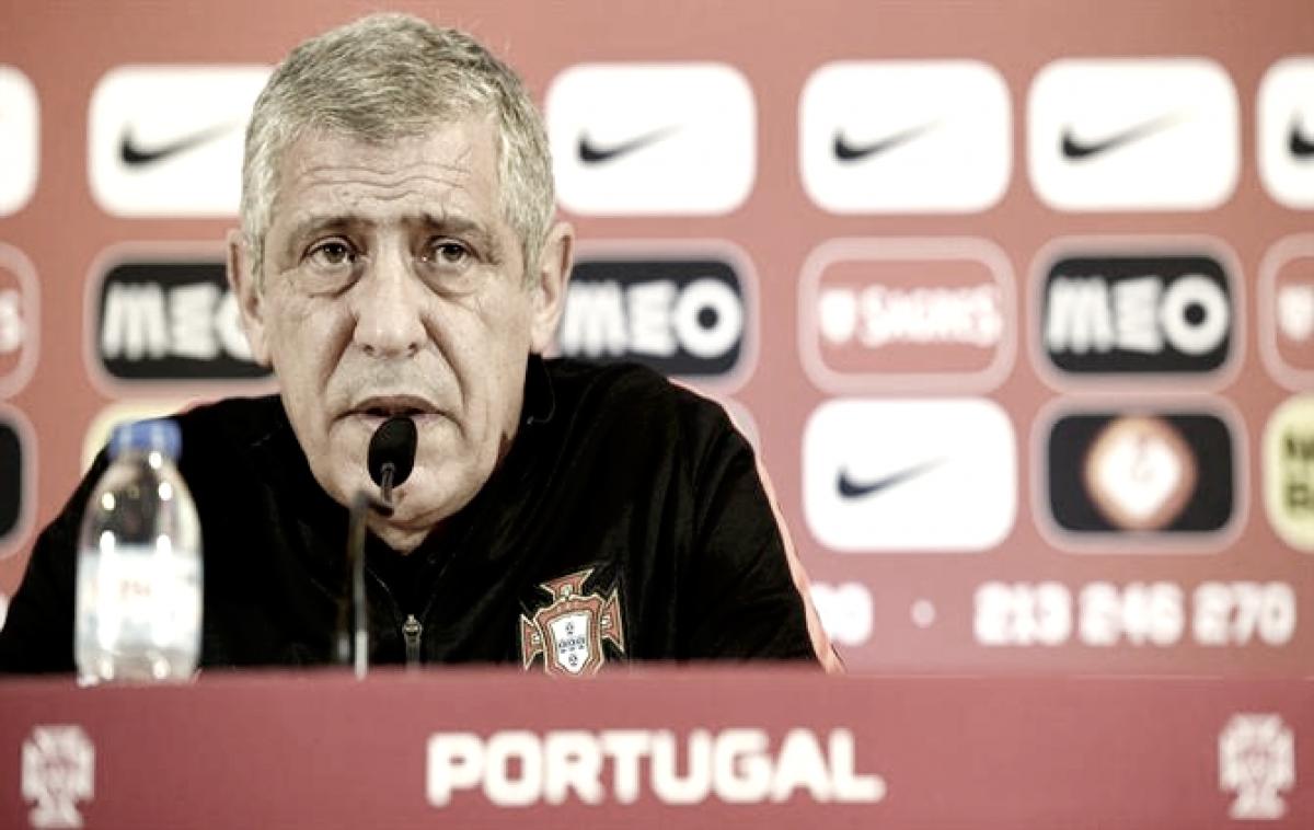 Fernando Santos assume responsabilidade em derrota de Portugal