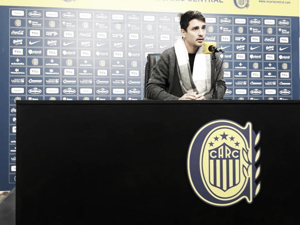 """Fernando Zampedri: """"Salí del entrenamiento por precaución"""""""