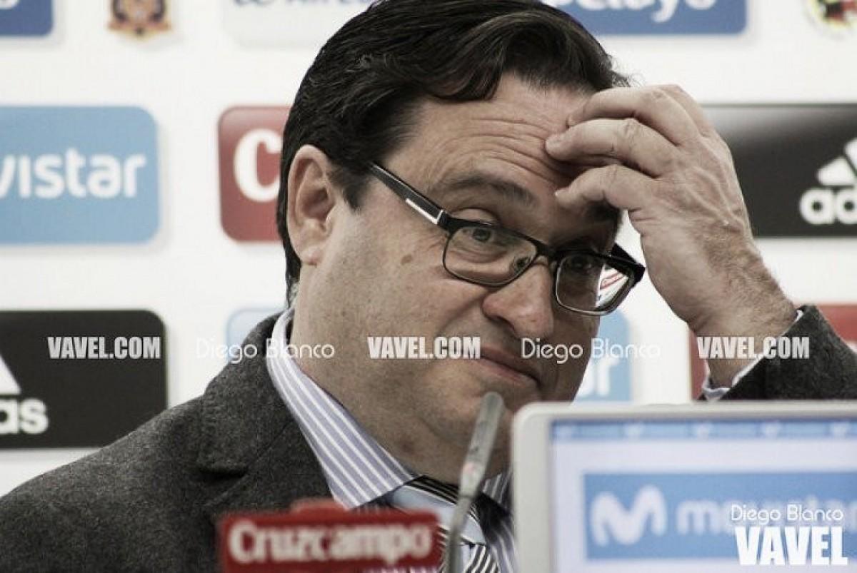 """Javier Fernández: """"Rubén Baraja tiene contrato con el Sporting"""""""