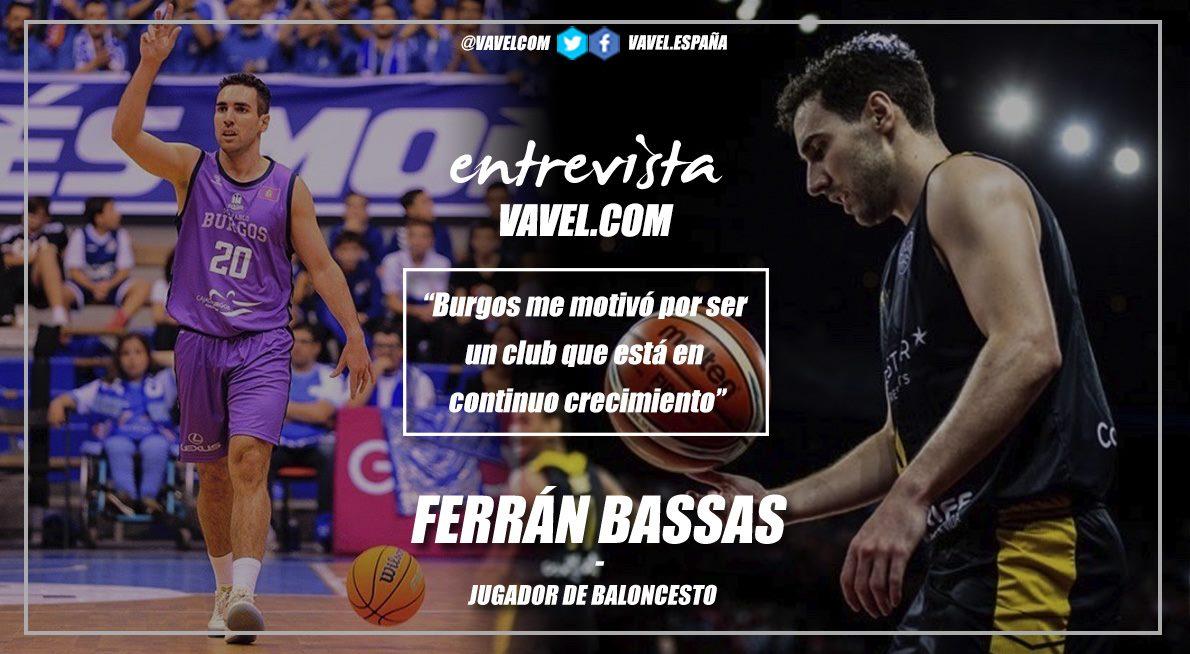 """Entrevista a Ferrán Bassas: """"Burgos me motivó por ser un club que está en continuo crecimiento"""""""