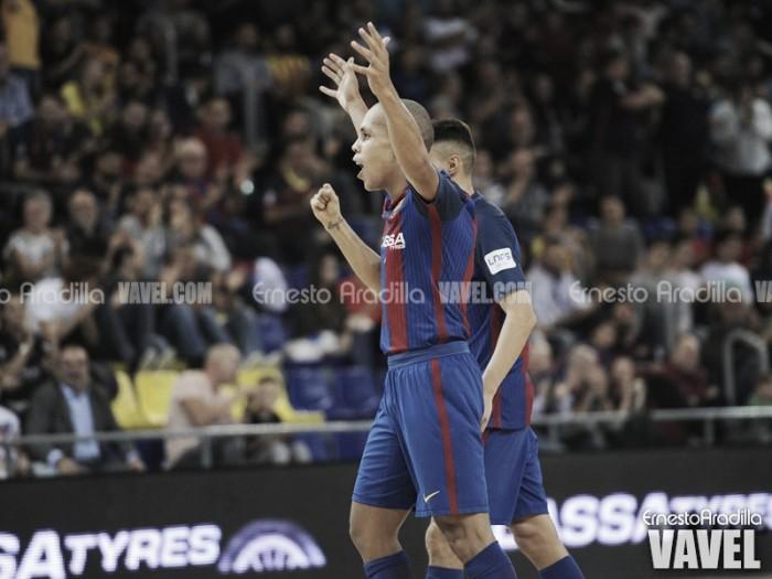 El Barça vence sufriendo hasta el final