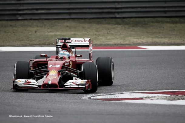 O engenhoso nariz do Ferrari F14-T