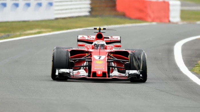 F1 - La gomma di Raikkonen ceduta per un contatto