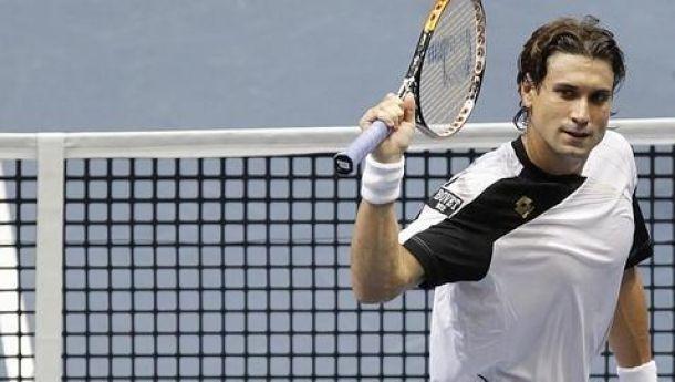 David Ferrer se lleva el derbi español