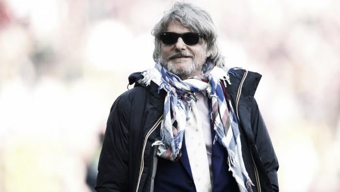 """Sampdoria, Ferrero difende Giampaolo: """"Non si tocca, è una mia scelta"""""""