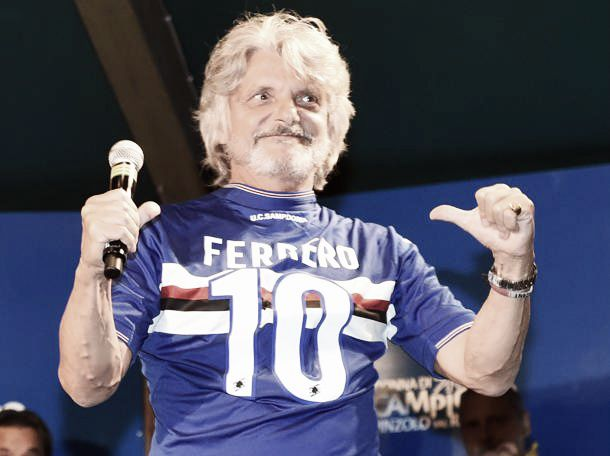 """Ferrero carica la Samp: """"Voglio puntare in alto, vorrei vincere almeno una Coppa"""""""