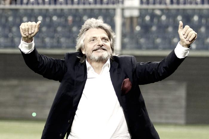 """Sampdoria, Massimo Ferrero: """"Schick può restare"""""""