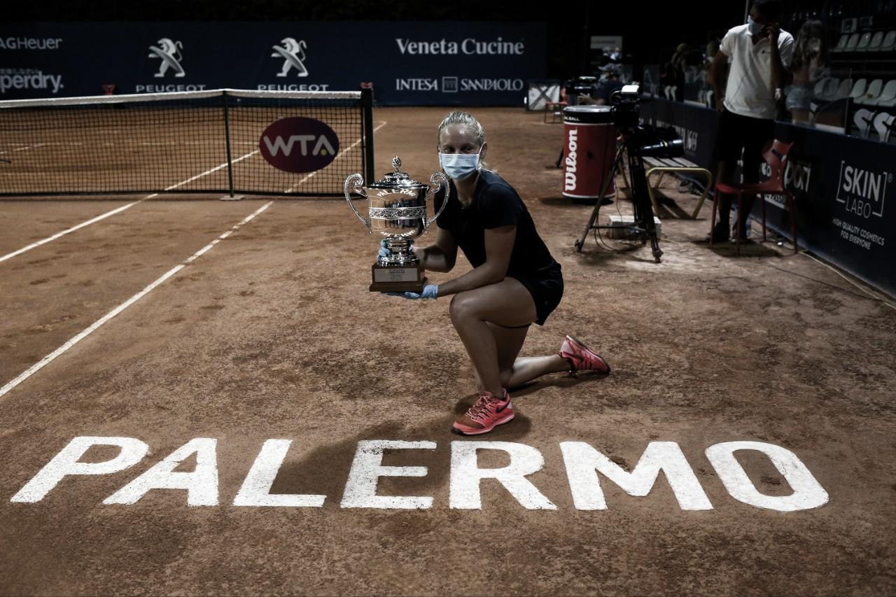 Fiona Ferro desbanca Kontaveit e conquista título do WTA de Palermo
