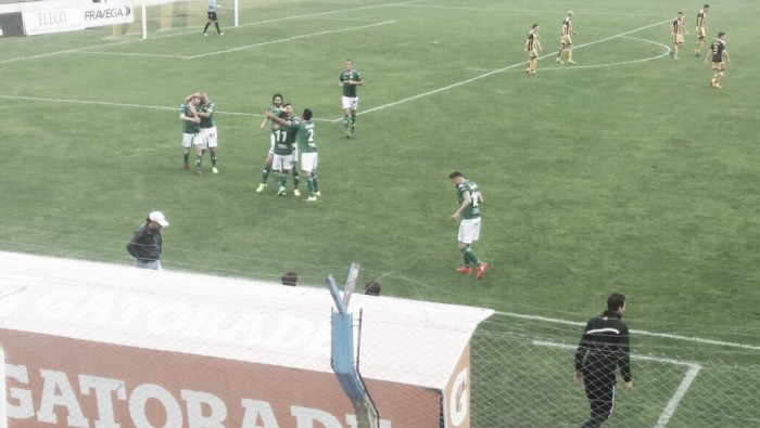 Santamarina (1) - Ferro (1): Un empate agridulce