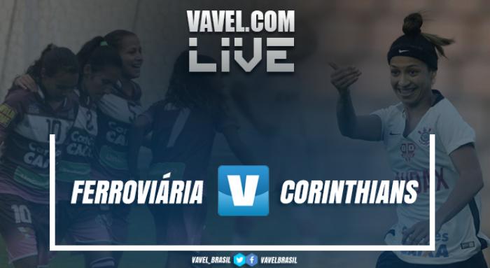 Resultado Ferroviária x Corinthians no Brasileirão Feminino (1-2 ... 46feb6c4c0a19