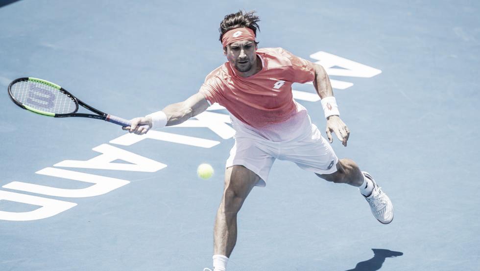Ferrer arranca con victoria su última participación en Auckland