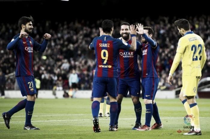 Liga, tutto liscio per il Barcellona con il Las Palmas: al Camp Nou è 5-0