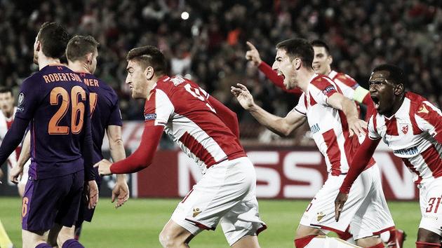 Sorpresa en Belgrado
