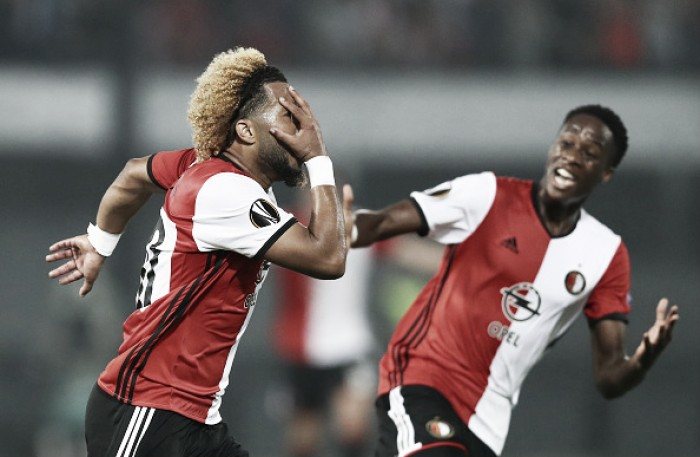Feyenoord surpreende, vence o United e lidera Grupo A da Europa League
